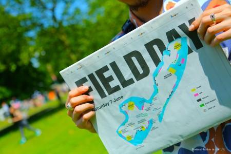 オシャレなヒップスターがロンドン市内に集まる都市型フェス「Field Day」
