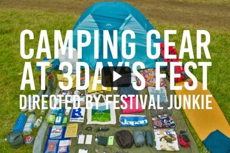 【MOVIE】海外フェスに必要な持ち物大公開(3DAY'S CAMP)