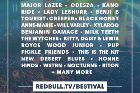 【Red Bull TV】The Cure、Major Lazerらが出演のBestivalが今週末ストリーミング配信!